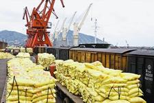 我国前三季度化肥出口1904万吨 同比下降6%