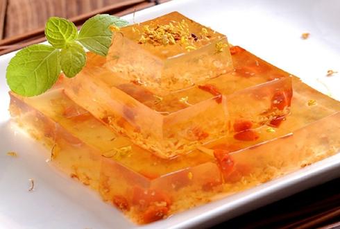 上海特色名点水晶桂花糕|水晶桂花糕的做法