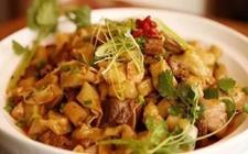 甘肃河西走廊地方特色小吃:羊肉垫卷子