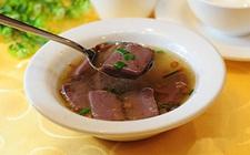 湖南长沙特色传统小吃:龙脂猪血