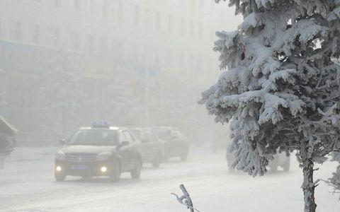 内蒙古呼伦贝尔市再次出现8到10度的降温 最低温零下40c°