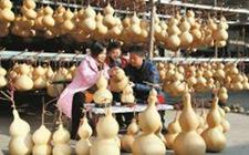 临汾襄汾:工艺葫芦成就致富路