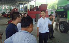 安徽肥东县农机局举办农机专业合作社带头人培训班