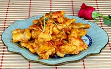 著名东北菜:锅包肉