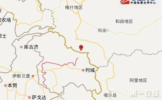 新疆喀什地区叶城县今晨发生5.2级地震 震源深度87千米