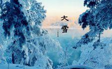 大雪节气来临 北京今日寒意十足