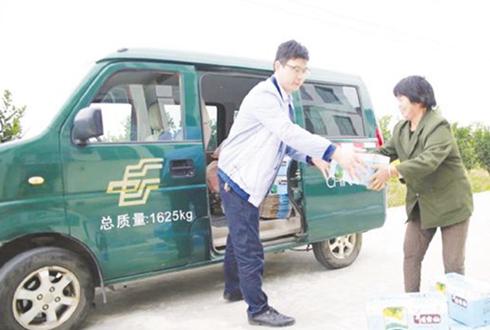 吉安快递电商融合 助推名优农产品