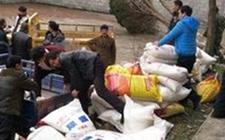 海南临高县地税局为贫困户送农资
