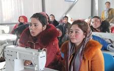 新疆:驻村工作队扶持助力妇女缝纫致富