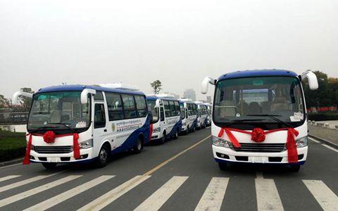 西藏林周县农村公交客运启动仪式举行