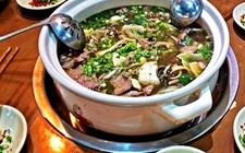 四川乐山名菜:跷脚牛肉