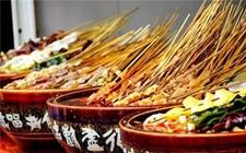 四川乐山地方特色小吃:钵钵鸡