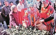 铁观音故乡安溪上演的茶俗婚礼