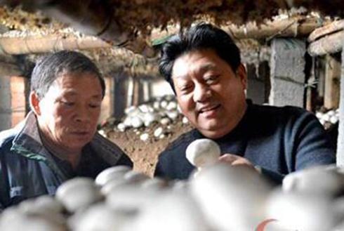 菇农致富领路人——河南省十大年度扶贫人物张艳军