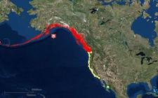 美国阿拉斯加外海发生地震 沿海居民安全撤离