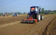陕西省计划今年完成390万亩的深松整地作业面积