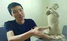 山东莱西村民李泽志:做雕塑泥一斤泥卖八十元