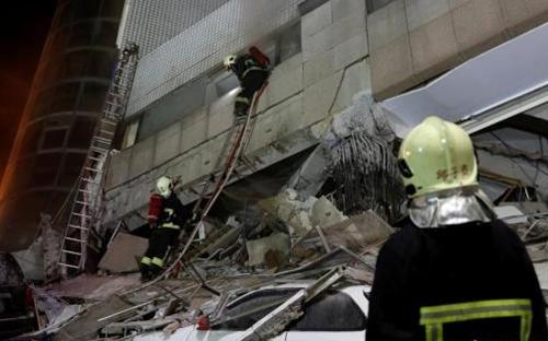 台湾花莲不排除发生更大余震可能性
