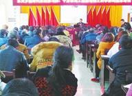 大方县东关乡养鸡技术班开堂授课 学生多位贫困户和养鸡农户