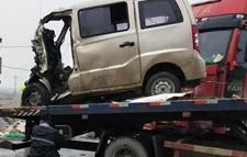 江西一面包车湖北遇车祸致10人死亡1人受伤