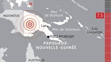 太平洋岛国巴布亚新几内亚发生7.5级地震