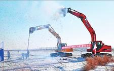 黑龙江省锦西灌区水利工程年前已开建
