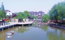 浙江金华兰溪市白坑村转型升级成新农村