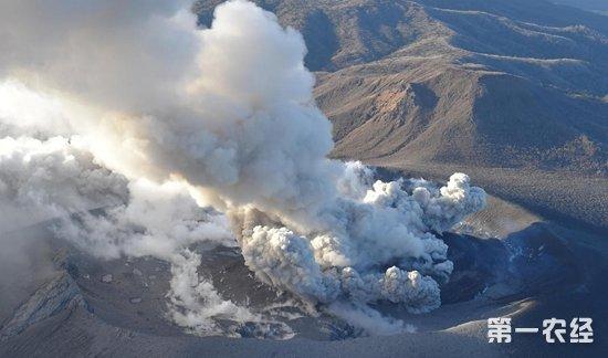 日本新燃岳火山大规模喷发 震动幅度加剧恐引发大地震