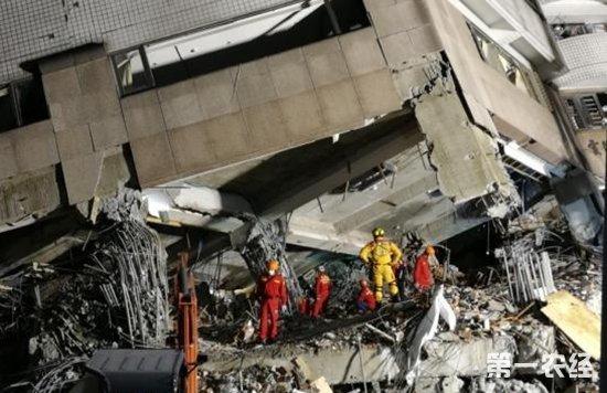 花莲地震土石废弃物或达10万吨 需1年时间或花费4亿元新台币