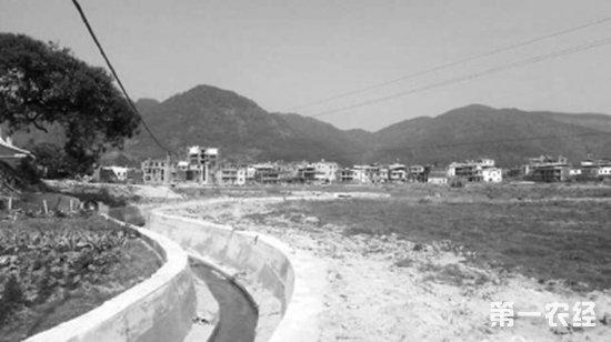 福建泉州:炉山村投资540多万修建水圳 7个村上万农民耕作受益