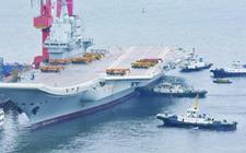 国产航母甲板全部清空 001A准备进行首次海航
