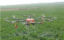陕西:无人机洒农药 一机能顶数十人