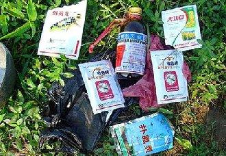 湖南:农药包装废弃物回收处置点增多 减少随意丢弃行为