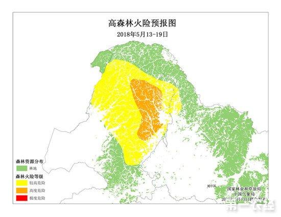 林业局、气象局联合发布:内蒙古黑龙江森林火险橙色预警