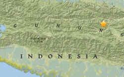 <b>今日上午印度尼西亚发生5.4级地震 暂无伤亡报告</b>