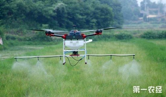 无人机+纳米农药:高科技助力高效植保