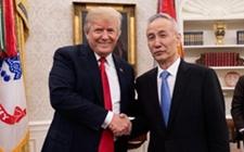 特朗普会见刘鹤就中美经贸问题进行深入沟通