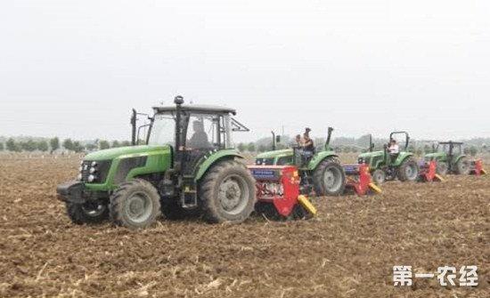 农业农村部督办落实1.5亿亩深耕目标