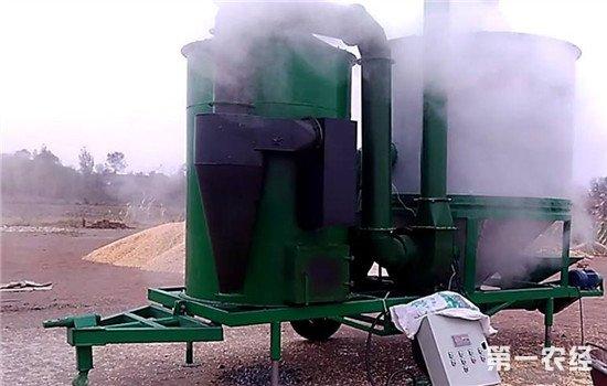 江西省粮食烘干机增加到9100台 粮食机械烘干率达40%