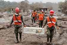 <b>哀痛!危地马拉富埃戈火山喷发已致109人死亡</b>