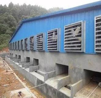 养猪场的分娩舍通风系统的建设要点有哪些?如何配套设施?