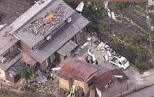 日本滋贺县龙卷风肆虐 民宅屋顶被掀多人受伤