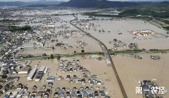 日本西部暴雨:多地居民仍断水断电 致死人数升至126人