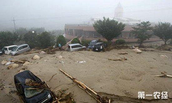 日本西部暴雨致近160人死亡 灾区仍有20万人缺水