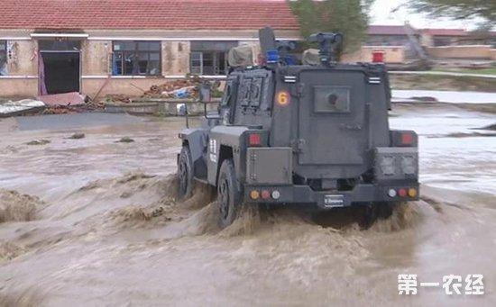 包头暴雨致特大洪灾 已致1人死亡2人失踪
