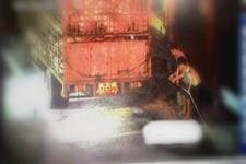 福建漳州:货车高速路上自燃 一车生猪险成烤全猪