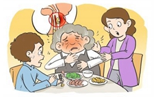 75岁老太鸡骨头卡喉 喝醋化解不成做开胸手术