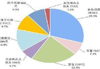 2018年上半年居民消费榜显示 上海人均消费支出全国最高
