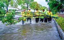 """台风""""温比亚""""匆匆来袭 已致安徽省9市33县受灾"""