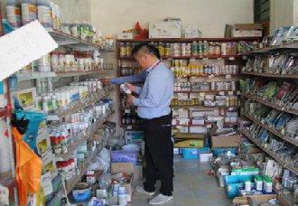 江苏宿迁:对农药市场进行随机抽检 让百姓用上安全农药